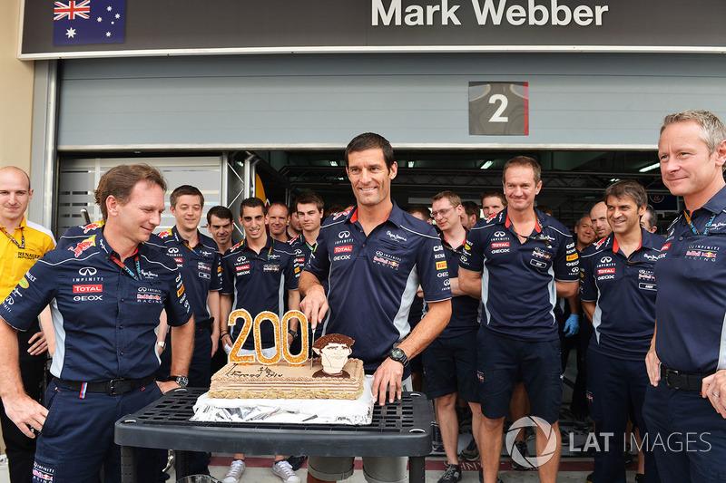 Mark Webber: 215 Rennen