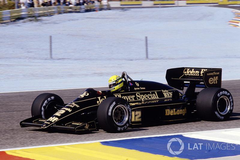 16. Айртон Сенна, Lotus 98T, Гран При Франции-1986 (Ле-Кастелле): 1:06,526