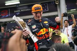 Race winner Max Verstappen, Red Bull Racing celebrates