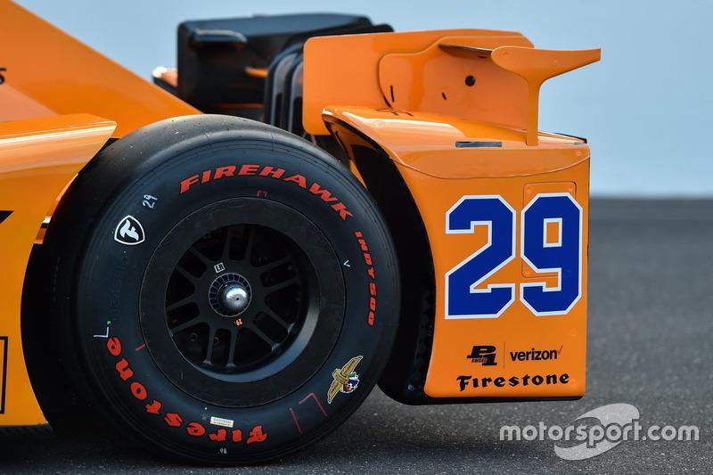 Болід Фернандо Алонсо, Andretti Autosport Honda