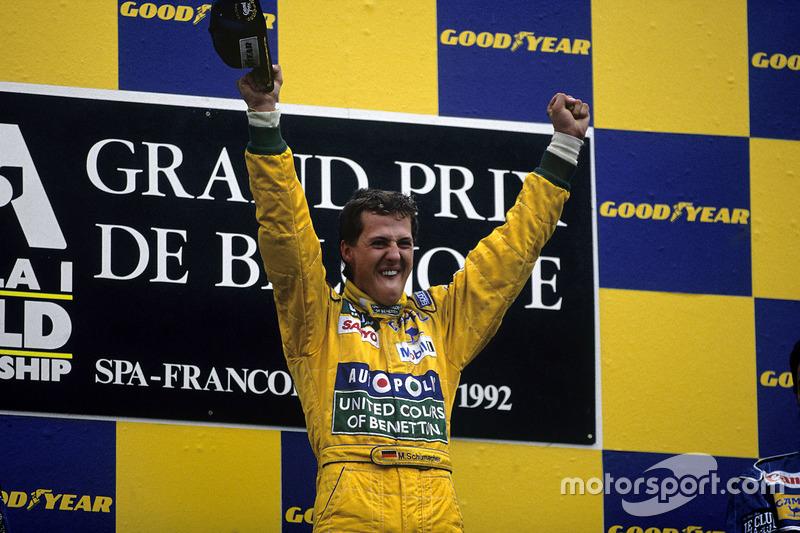 Michael Schumacher - Grand Prix de Belgique (six victoires)