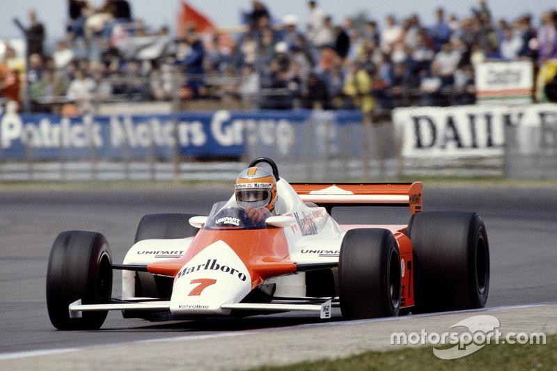 1981-1982. McLaren MP4/1 Ford Cosworth