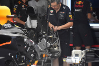 Red Bull Racing RB13 rear detail