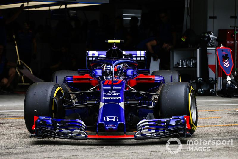 11 місце — П'єр Гаслі, Toro Rosso. Умовний бал — 9,93
