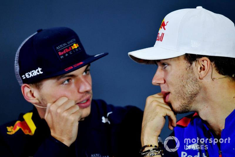 Max Verstappen, Red Bull Racing, Pierre Gasly, Toro Rosso