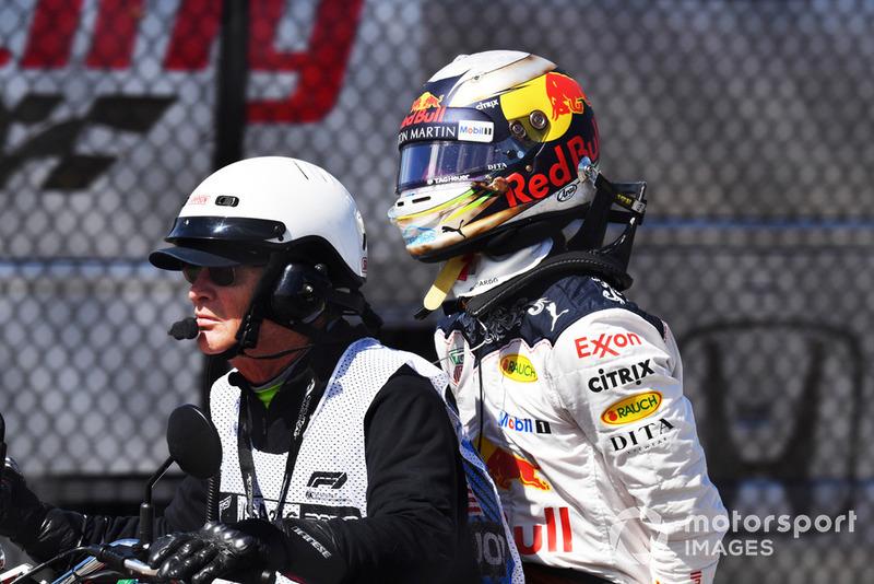 Сход: Даниэль Риккардо, Red Bull Racing