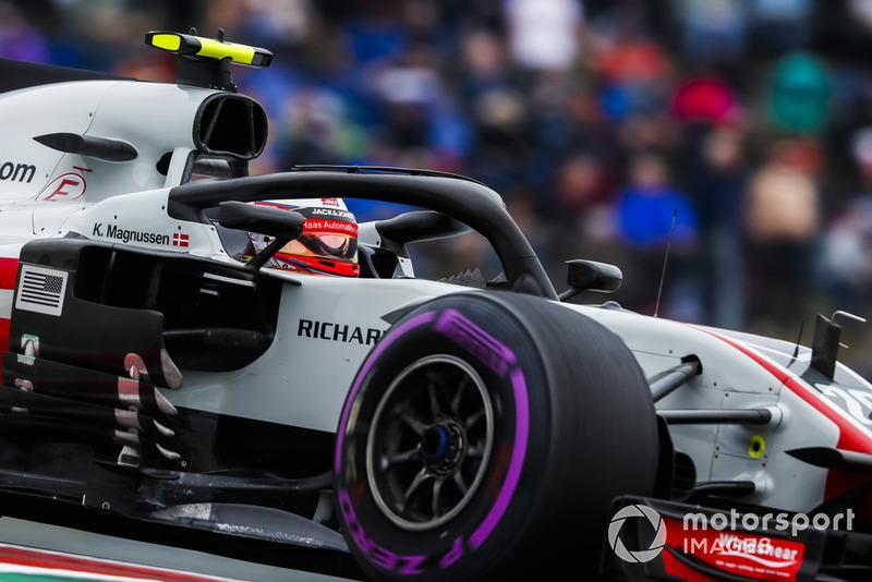 DSQ: Kevin Magnussen, Haas F1 Team VF-18