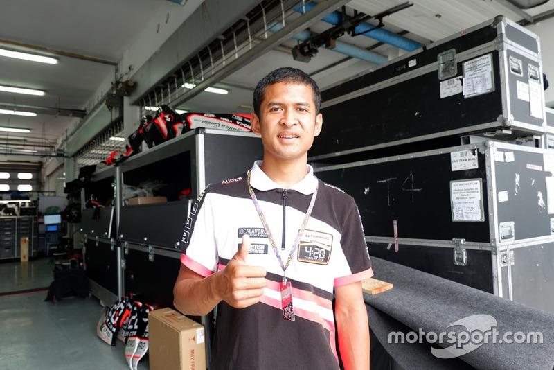 Rafid Topan, Forward Racing