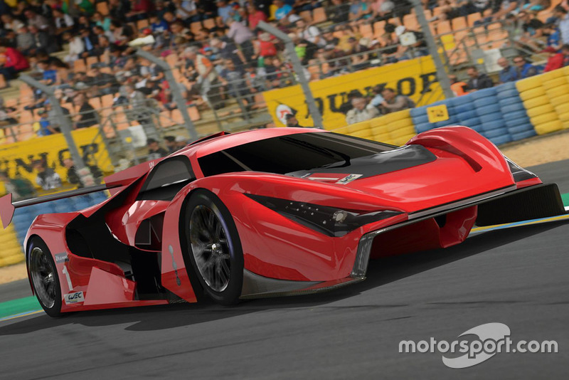 Studie: Ferrari-Hypercar für WEC und Le Mans 2020