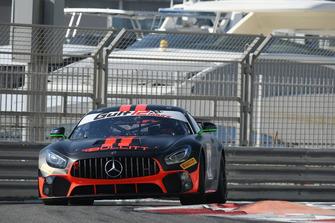 #3 Bullitt Racing Mercedes AMG GT4: Oliver Caldwell, Ian Loggie, Oleg Kharuk