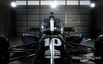 Показ «аэроскрина» на болиде IndyCar-2020