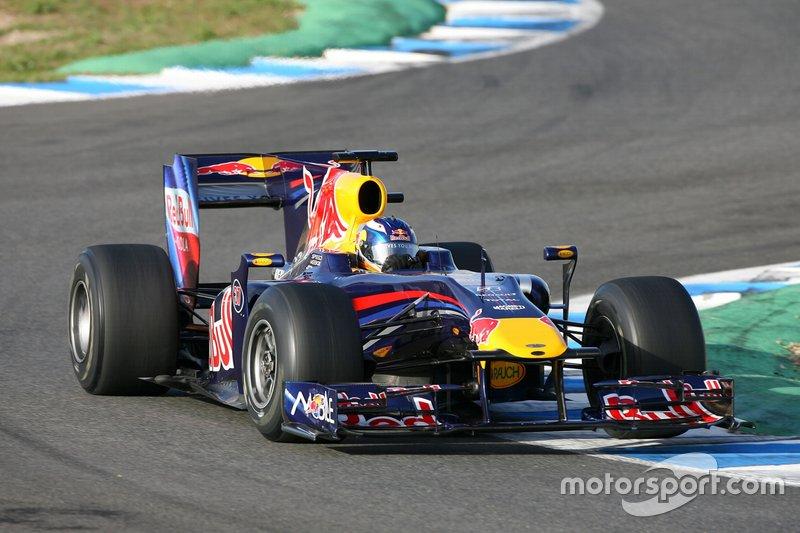 Le 1er test de Ricciardo chez Red Bull, quand il avait 20 ans