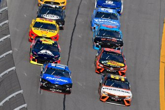 Ricky Stenhouse Jr., Roush Fenway Racing, Ford Mustang Fastenal, Matt DiBenedetto, Leavine Family Racing, Toyota Camry Procore
