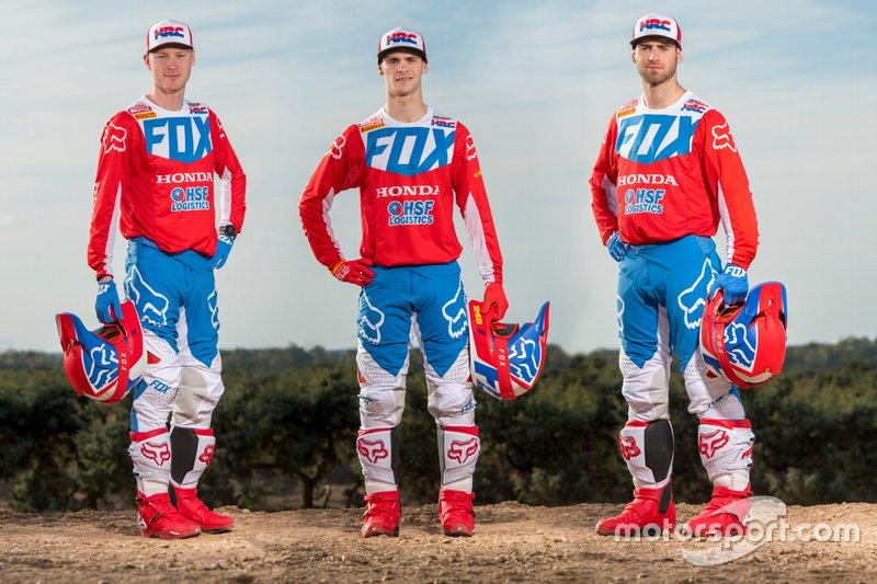 Team HRC Honda riders