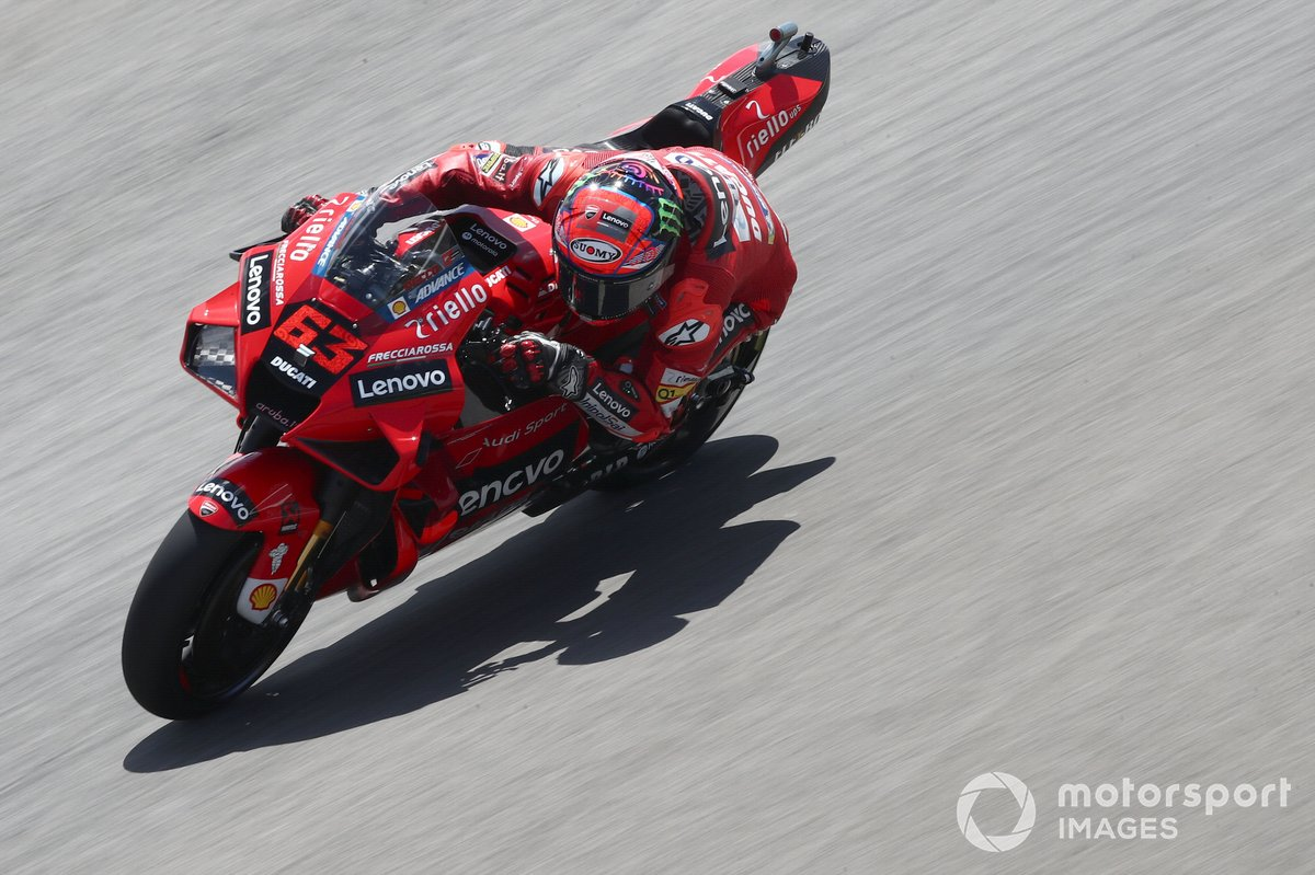 P4 Francesco Bagnaia, Ducati Team