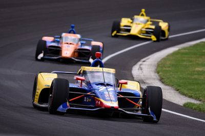 Indy March testing