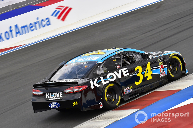 18. Michael McDowell, Front Row Motorsports, Ford Fusion K-LOVE RADIO