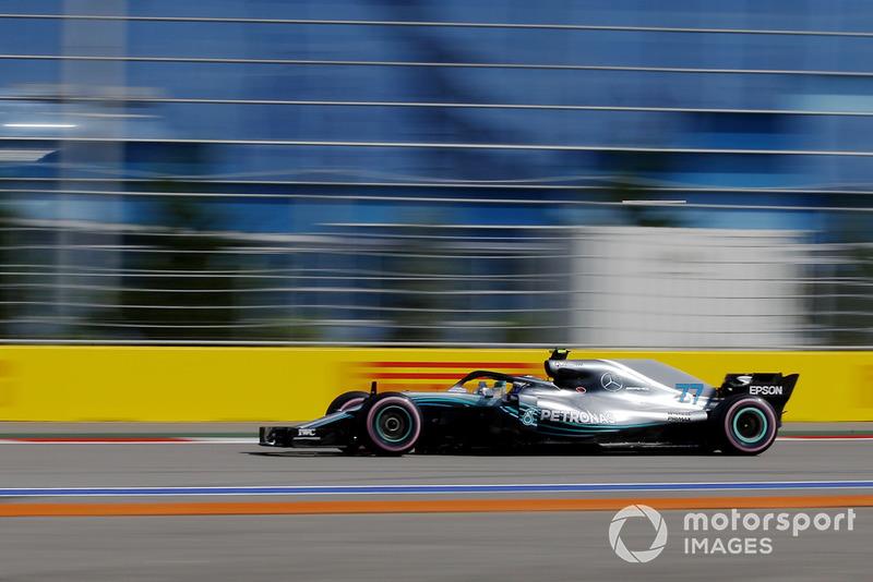 1. Valtteri Bottas, Mercedes AMG F1 W09