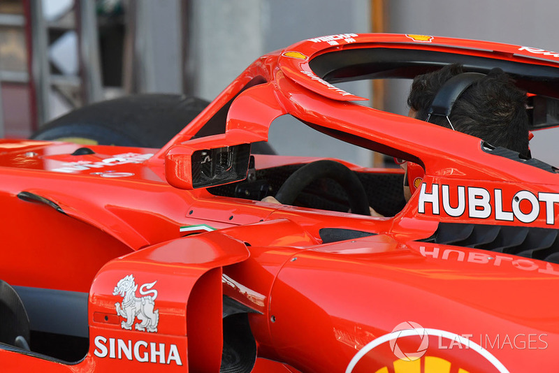 SF71Halo Ferrari SF71H