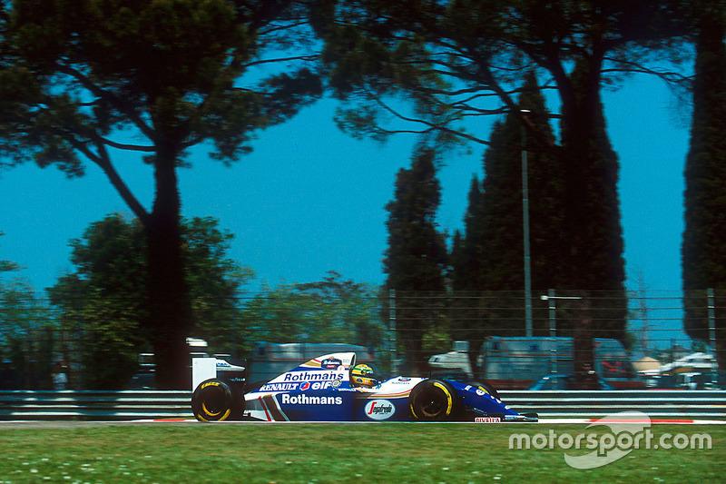 San Marino 1994: Ayrton Senna, Williams FW16