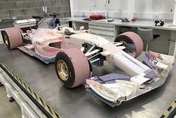 2017 Manor Racing, modello per la galleria del vento