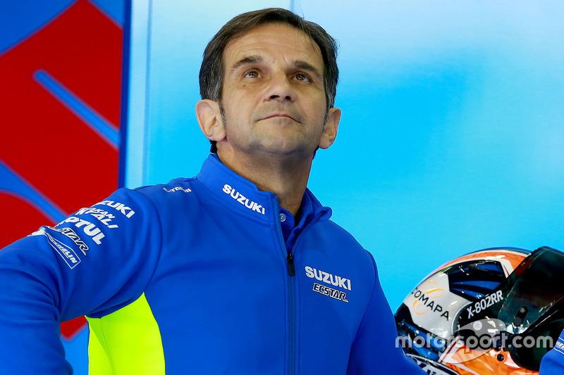 Davide Brivio, Team Manager Suzuki