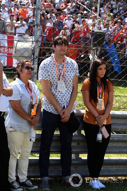 Ashton Kutcher, Actor on the grid