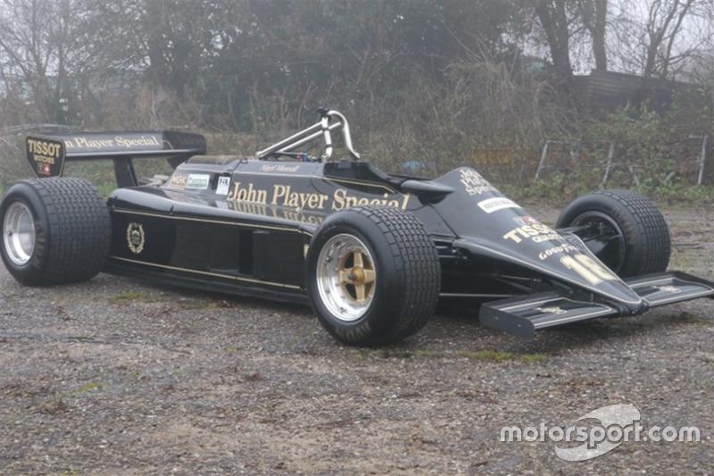 Lotus 87. Сезон: 1981. Цена по запросу