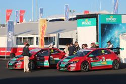 Christjohannes Schreiber und Peter Rikli, Honda Civic TCR, Rikli Motorsport