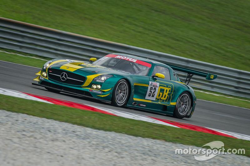 #52 SAITAMA TOYOPET Green Brave Mercedes-Benz SLS AMG GT3: Taku Bamba, Takayuki Hiranuma, Naoki Hattori,Shogo Mitsuyama