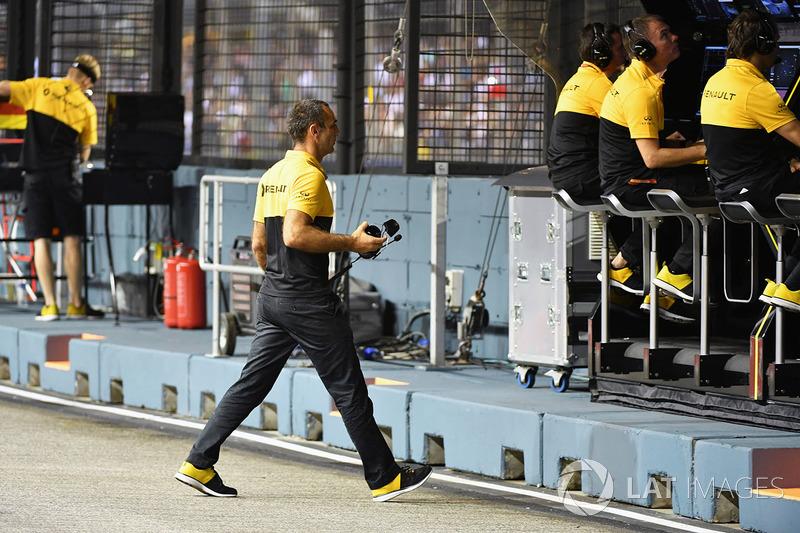 Cyril Abiteboul, director de Renault Sport F1
