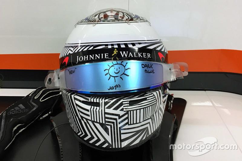 Шлем Фернандо Алонсо, McLaren