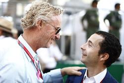 Eddie Irvine e Nicolas Todt