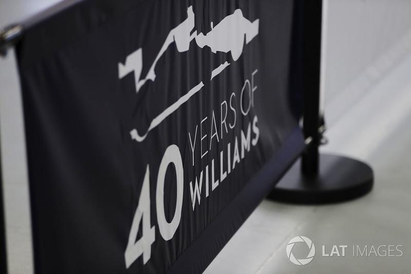 Ambiance des 40 ans de Williams
