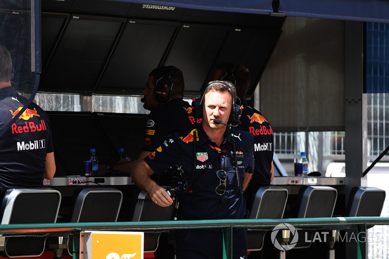 Christian Horner, director de Red Bull Racing