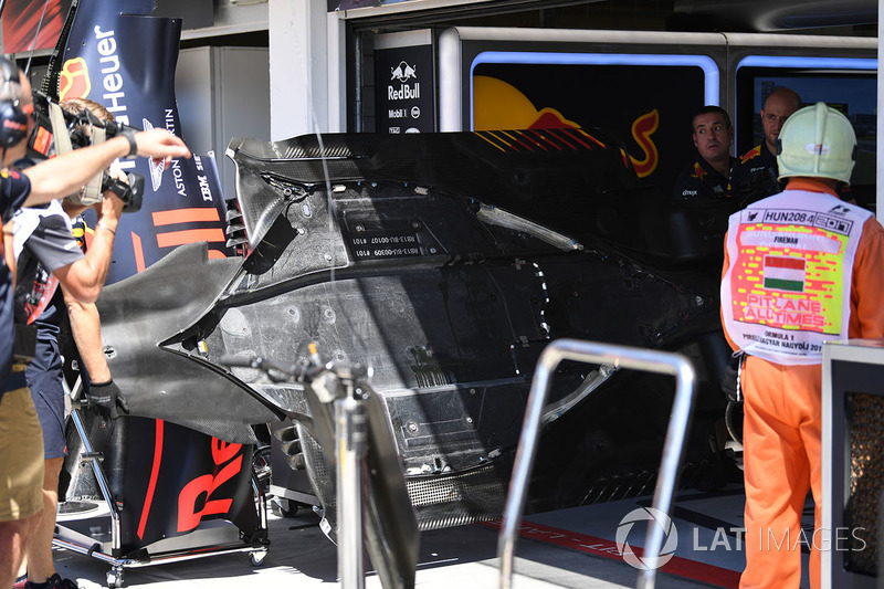 Підлога Red Bull Racing RB13