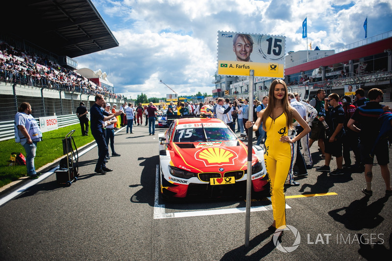 Chica de la parrilla de Augusto Farfus, BMW Team RMG, BMW M4 DTM