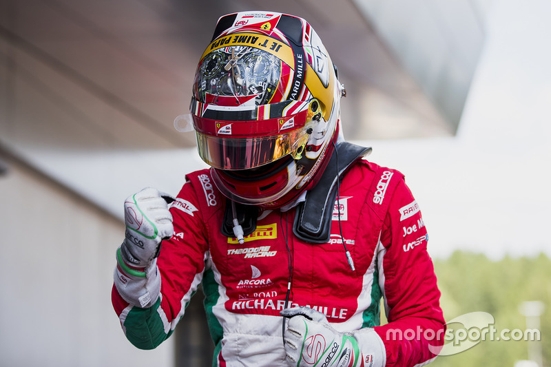 Winner Charles Leclerc, PREMA Powerteam