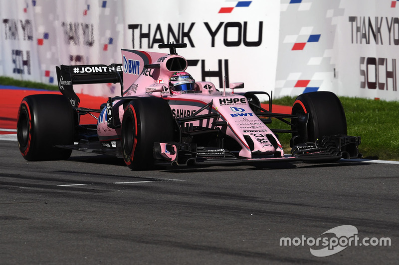 2017 GP de Rusia (8 puntos)