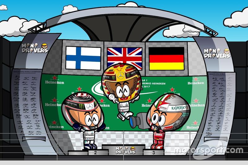 El GP de Italia 2017 de F1 según Los MiniDrivers