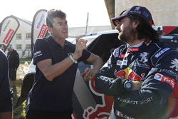 David Castera, Peugeot Sport with Marc Coma, Dakar sporting director