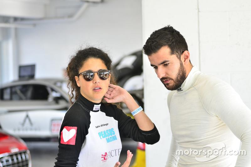 Inès Taittinger & Brett Sandberg de ANSA Motorsports