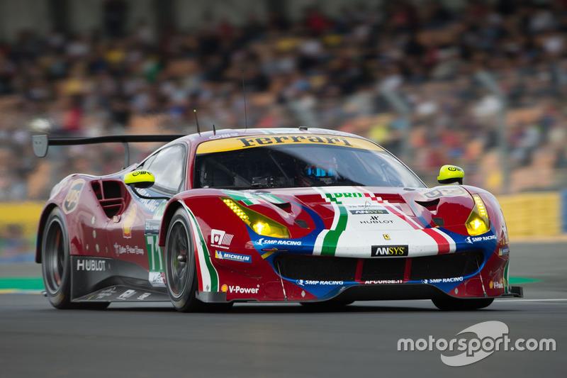 LMGTE-Pro: #71 AF Corse, Ferrari 488 GTE