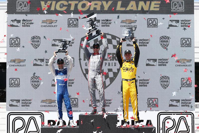 Podyum: 1. Will Power, Team Penske Chevrolet, 2. Tony Kanaan, Chip Ganassi Racing Chevrolet, 3. Graham Rahal, Rahal Letterman Lanigan Racing Honda
