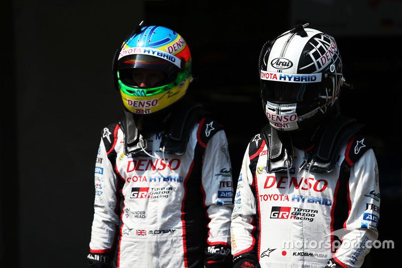 Mike Conway ve Kamui Kobayashi, Toyota Gazoo Racing