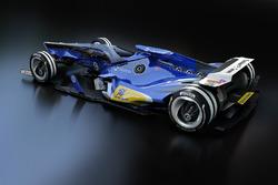 Sauber, design di fantasia per il 2030
