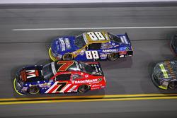 Justin Allgaier, JR Motorsports Chevrolet, Chase Elliot, JR Motorsports Chevrolet