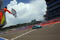 Il vincitore della gara Stefano Comini, Leopard Racing, Volkswagen Golf GTI TCR