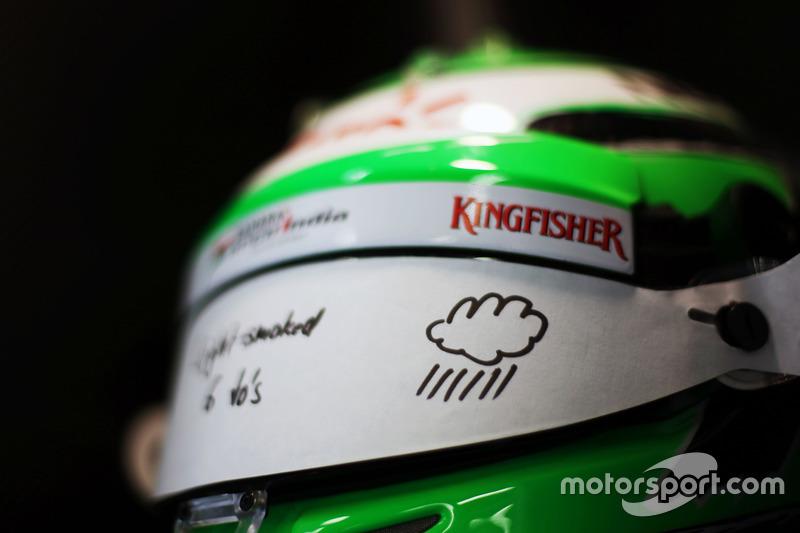 Kask, Nico Hulkenberg, Sahara Force India F1