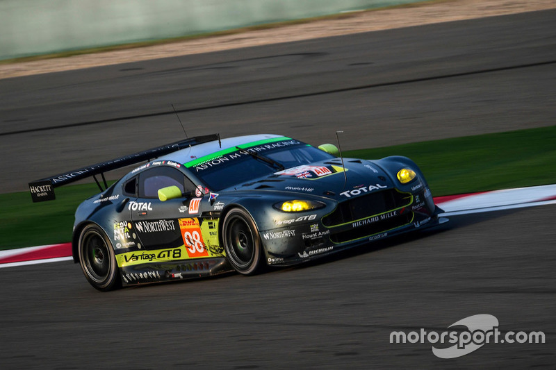 1. LMGTE-Am: #98 Aston Martin Racing, Aston Martin Vantage GTE: Paul Dalla Lana, Pedro Lamy, Mathias Lauda
